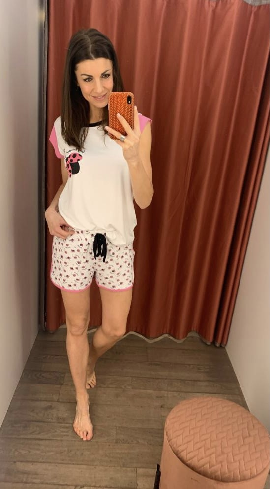 Twin-Set Pyjama T-Shirt + Short Lieveheersbeestjes