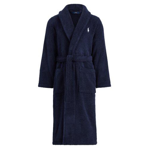 Ralph Lauren badjas met kraag