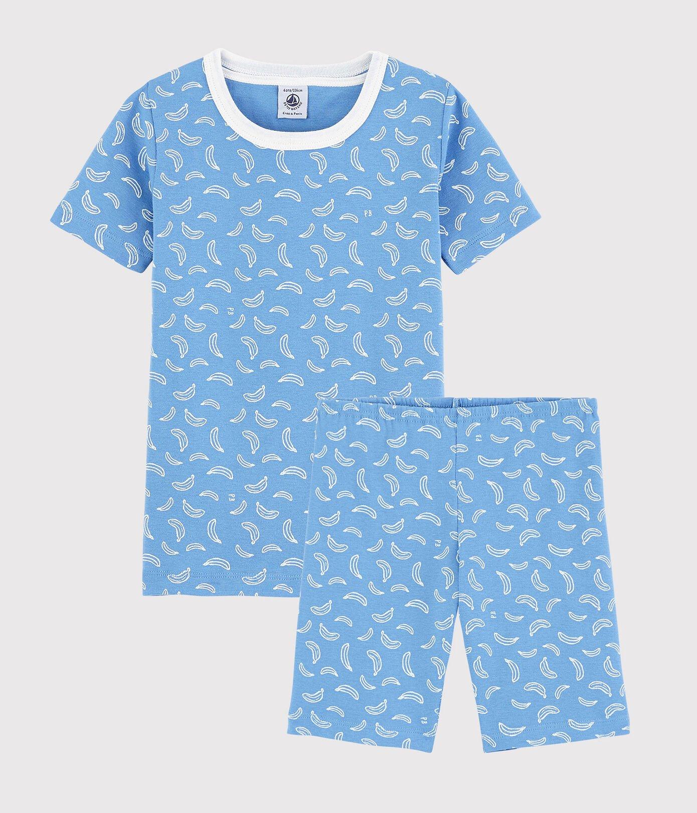 Petit Bateau T-Shirt + Short, Bananen