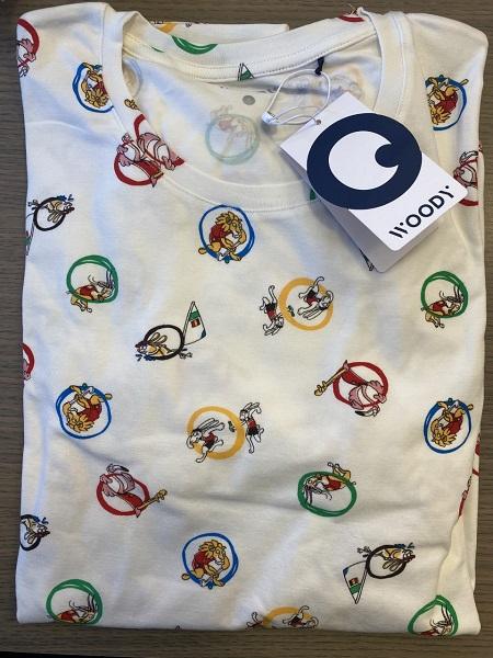Woody Olympische spelen pyjama heren