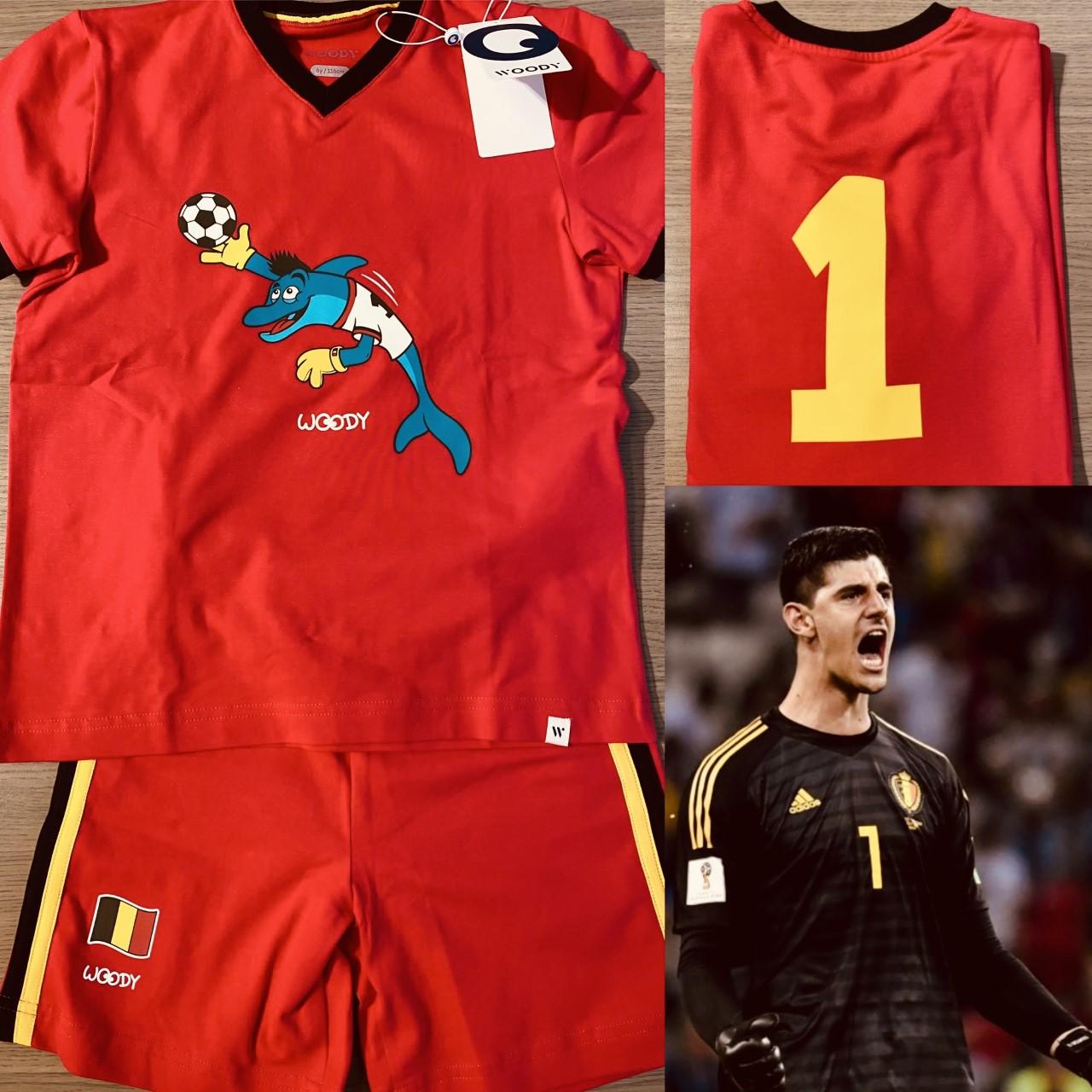 Woody EK voetbal Herenpyjama Thibaut Courtois