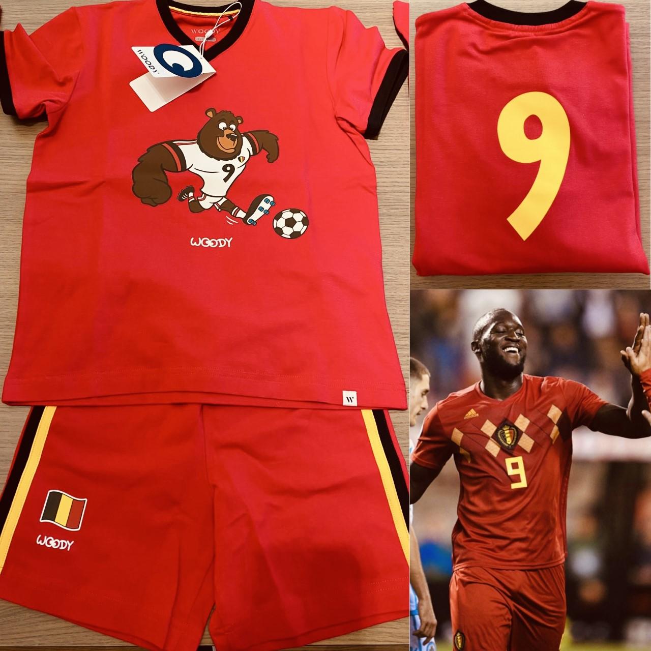 Woody EK voetbal Herenpyjama Romelu Lukaku