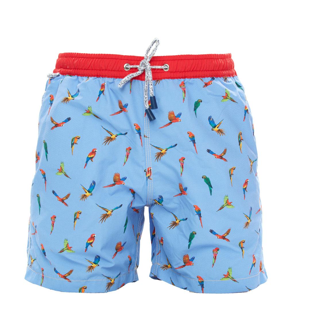 Mc Alson Zwemshort papegaaien