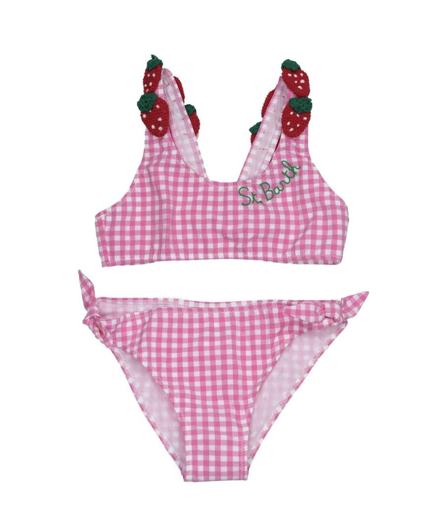 Saint Barth Bikini-set vichy, Aardbeien
