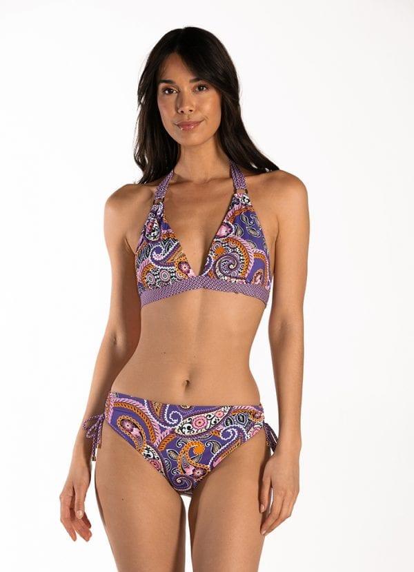 Cyell Pretty Paisley Bikini Driehoek Voorgevormd