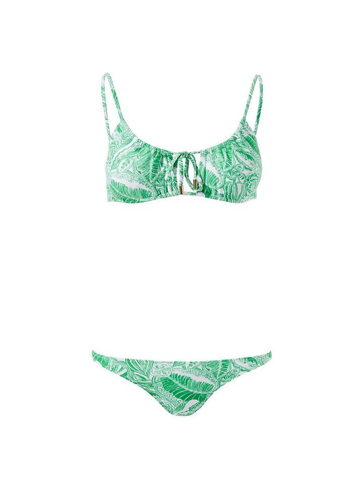 Melissa Odabash Egypt Bikini -set, Print
