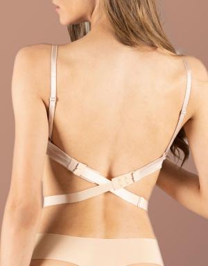 Byebra Low Back Straps, 3 haakjes, 3-Pack