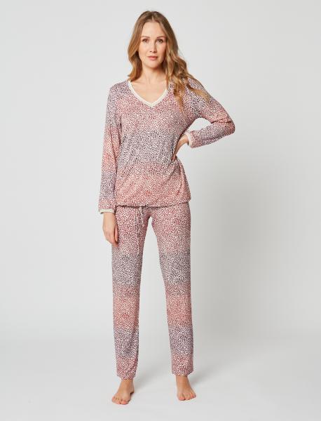 Le Chat Ariane pyjama leopard