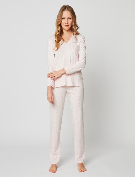 Le Chat Caline pyjama cirkels
