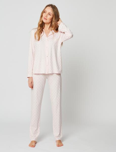 Le Chat Caline pyjama doorknoop cirkels