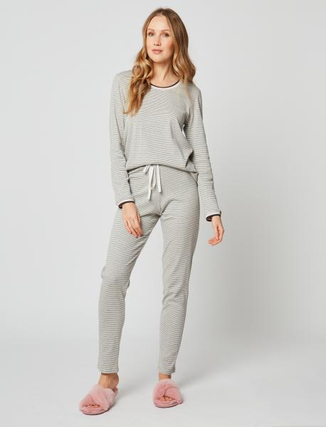 Le Chat Paresse pyjama streepjes