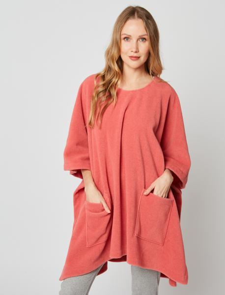 Le Chat Poncho fleece