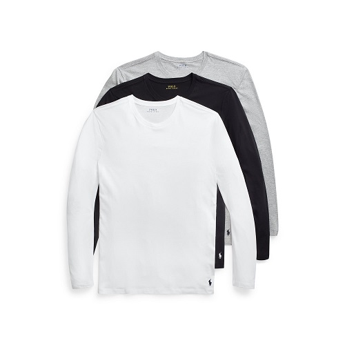 Ralph Lauren Basic cotton Long sleeve 3-pack