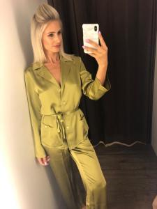 Marjolaine Pyjama 100% zijde