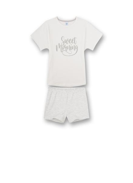 """Sanetta T-Shirt """"sweet morning"""" + Short Strepen"""