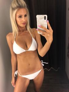 Heidi Klein Core Tie Bikini driehoek + Slip Strik
