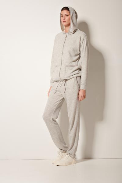 Pluto Beanca Sweater kap, rits + Lange broek
