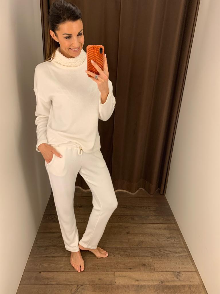 Vitamia Sweater met rolkraag + broek
