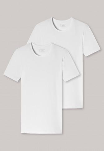 Schiesser 95/5 T-shirt round-neck 2-Pack