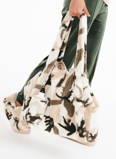 Lords & Lilies Grote tas camouflage
