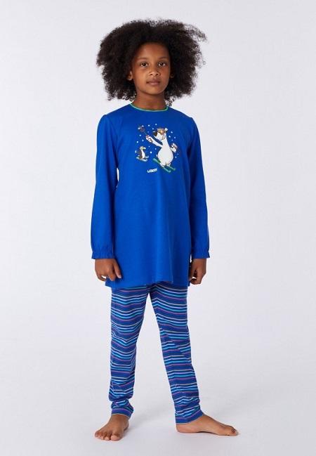 Woody Meisjes – Damespyjama, ijsbeer