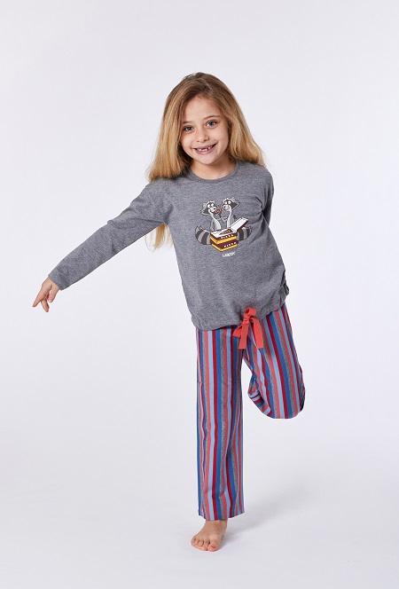 Woody Meisjes – Damespyjama, Wasbeer