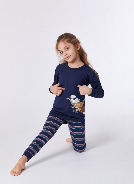 Woody Meisjes-Damespyjama, Hooglander
