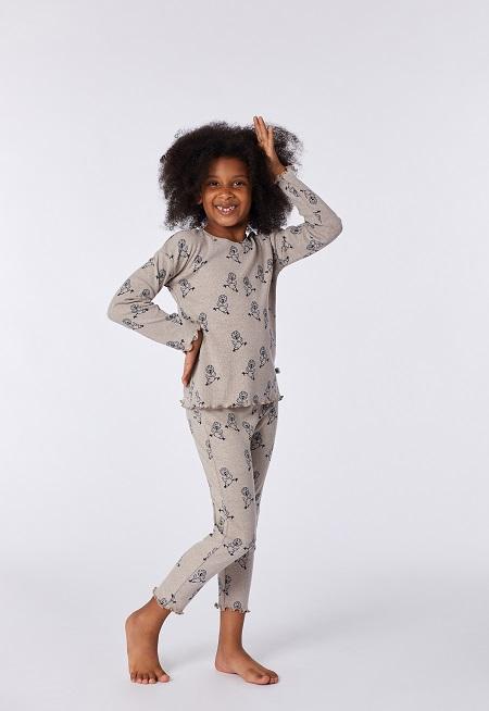 Woody Meisjes-Damespyjama, Chicken print