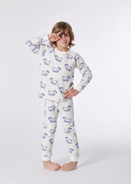 Woody Unisex Pyjama, Polar beer print