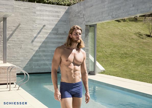 Schiesser zwemshort aansluitend