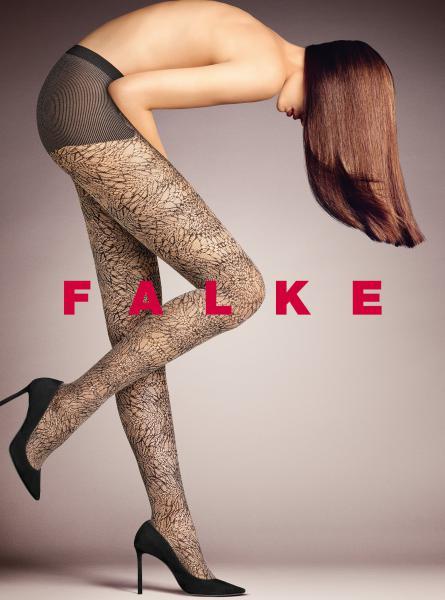 Falke panty motief