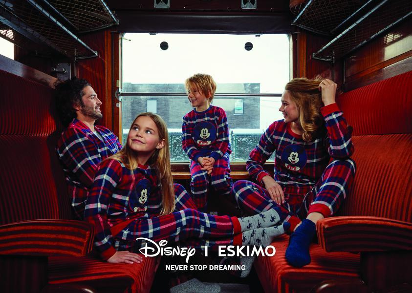 Disney Mickey Ecossais meisjespyjama 2-8j.