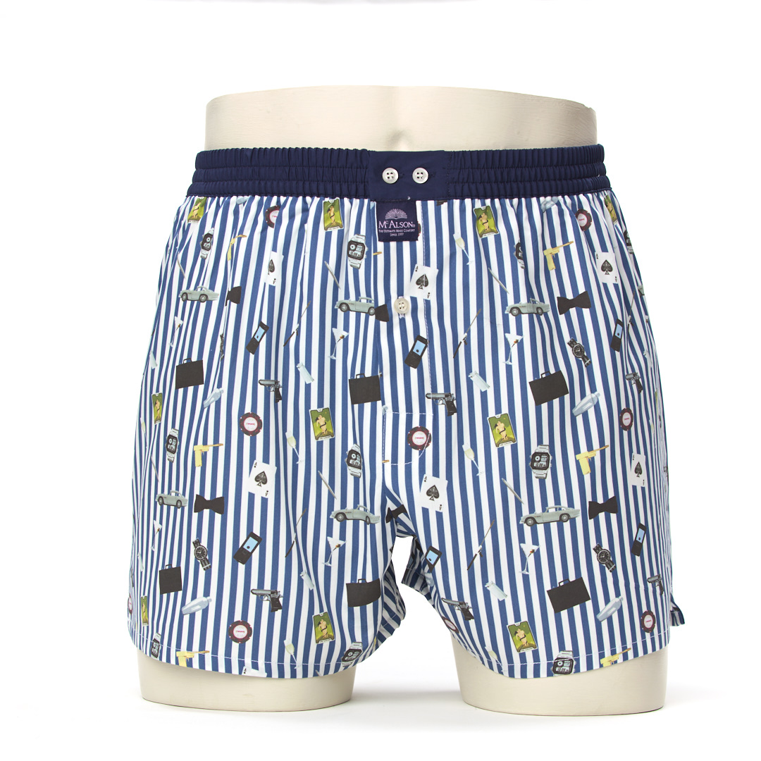 Mc Alson Boxershort James Bond