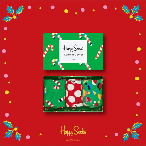 Happy Socks  Holiday Giftbox 3 paar kousen