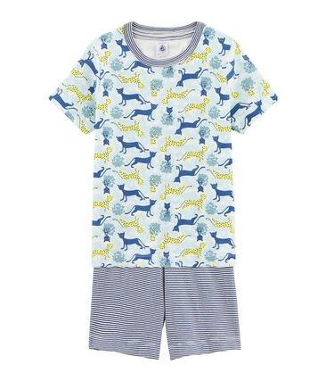 Petit Bateau Luipaard Pyjama jongens