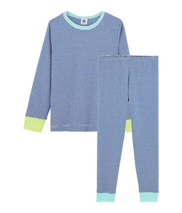 Petit Bateau Streepjes Pyjama jongens