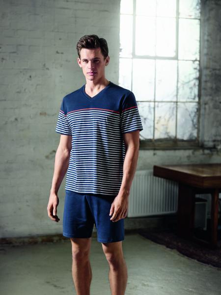 Schiesser Stripes Pyjama heren
