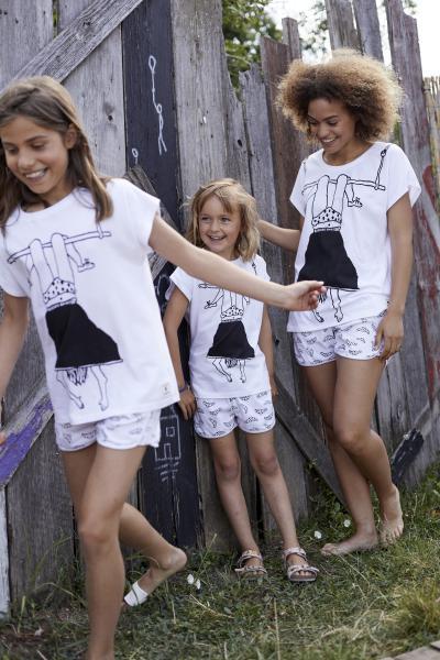 Eskimo Helen b Trapeze Pyjama meisjes 4-6j.