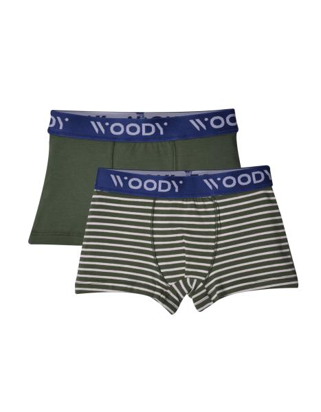 Woody Panter Jongensboxershort DUOpack