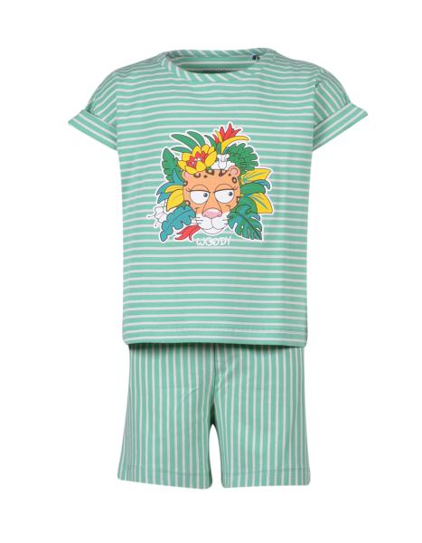 Woody Panter Pyjama meisjes
