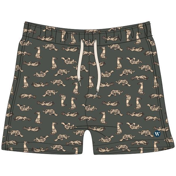 Woody Swim Panter Zwemshort los
