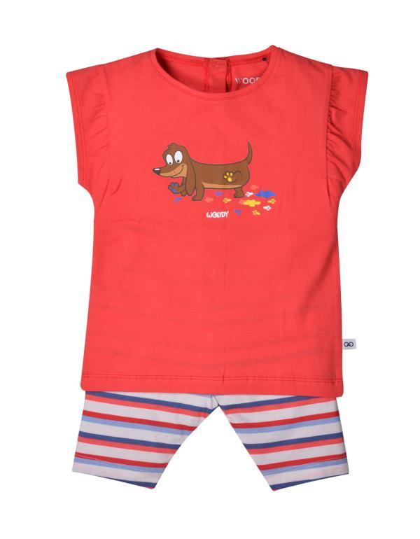 Woody Hond Pyjama baby meisjes