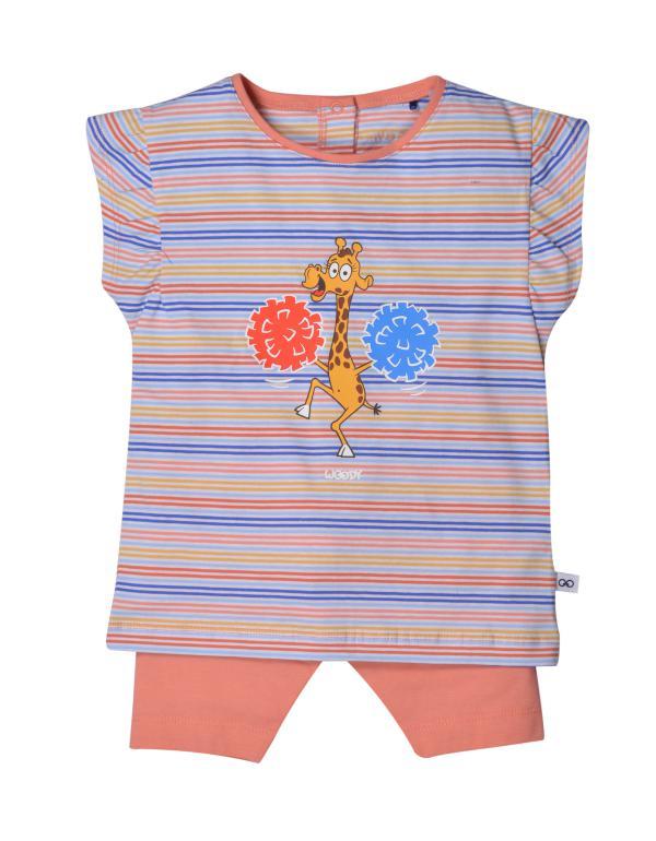Woody Giraf Pyjama baby meisjes