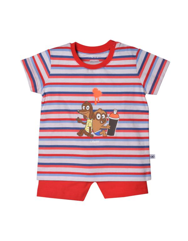 Woody Hond Pyjama baby unisex