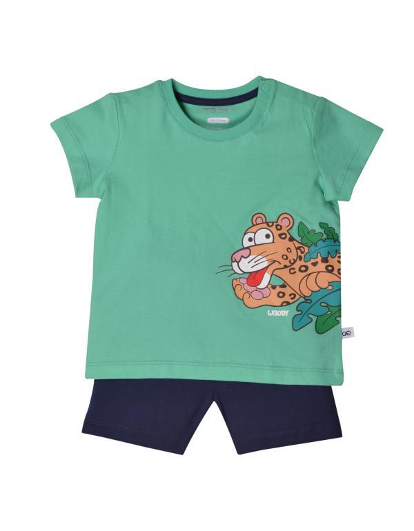 Woody Panter Pyjama baby unisex