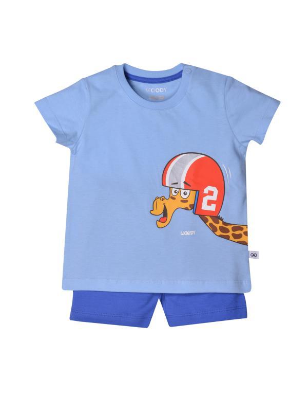 Woody Giraf Pyjama baby unisex