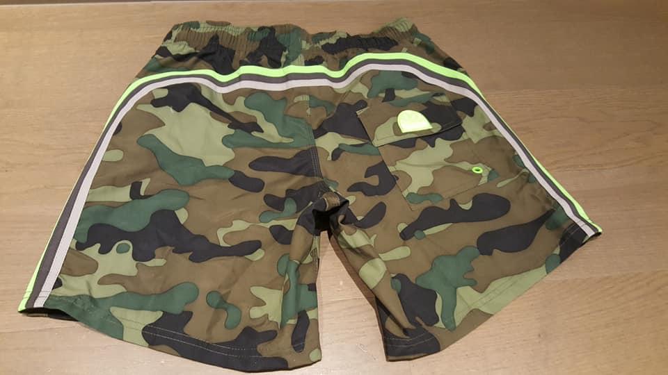 Sundek  Zwemshort heren camouflage