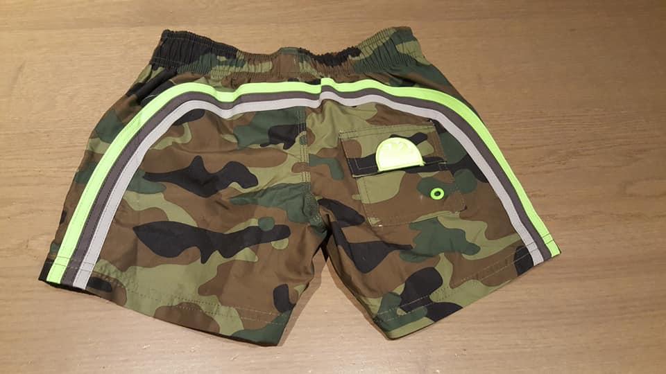 Sundek Losse Zwemshort camouflage jongens