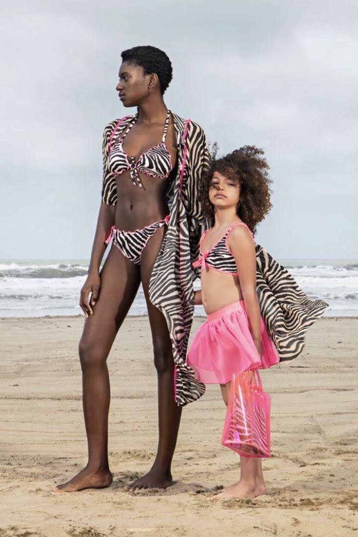 Twin-Set Zebra Meisjesbikini