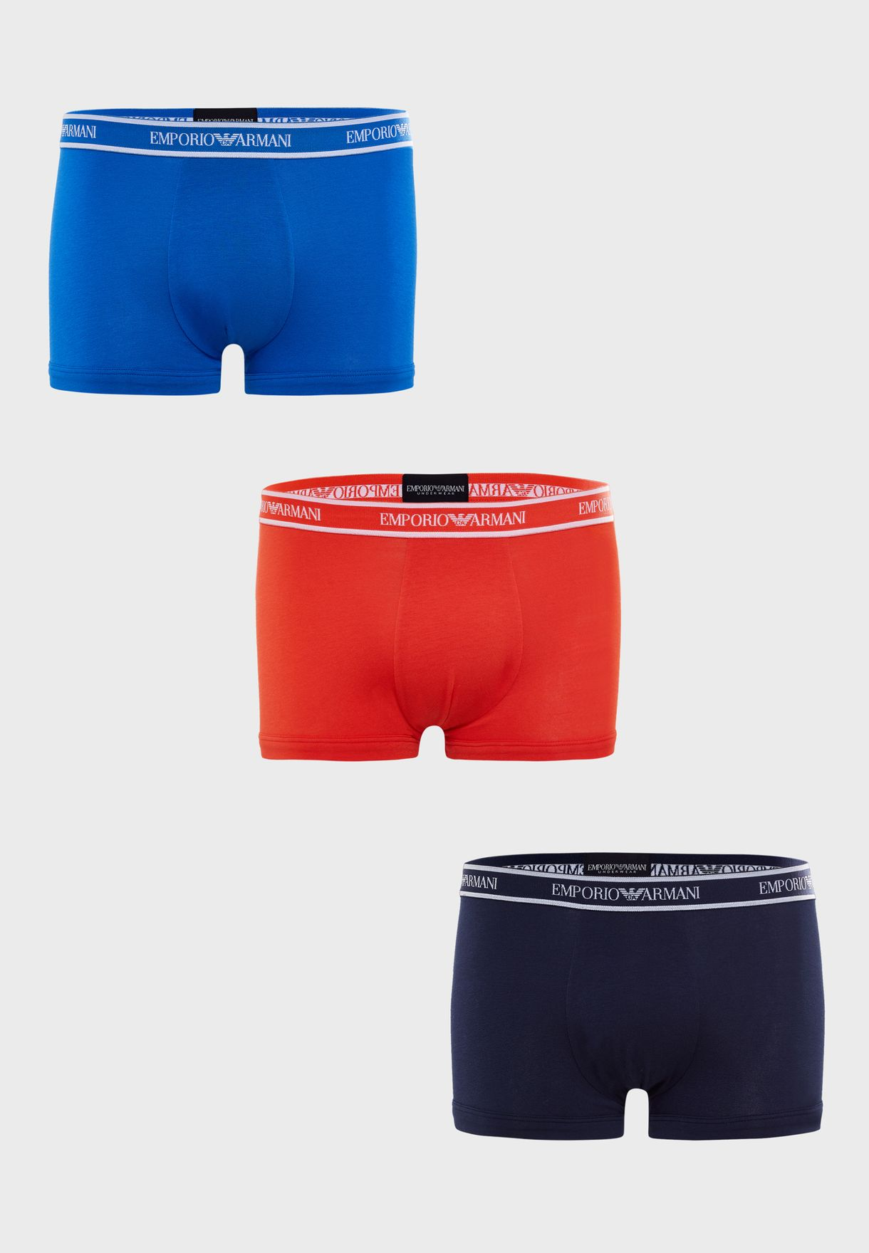 Armani Stretch Cotton 3 Pack Boxers